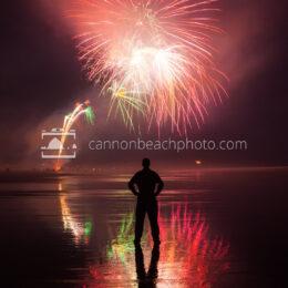 Manzanita Fireworks Show