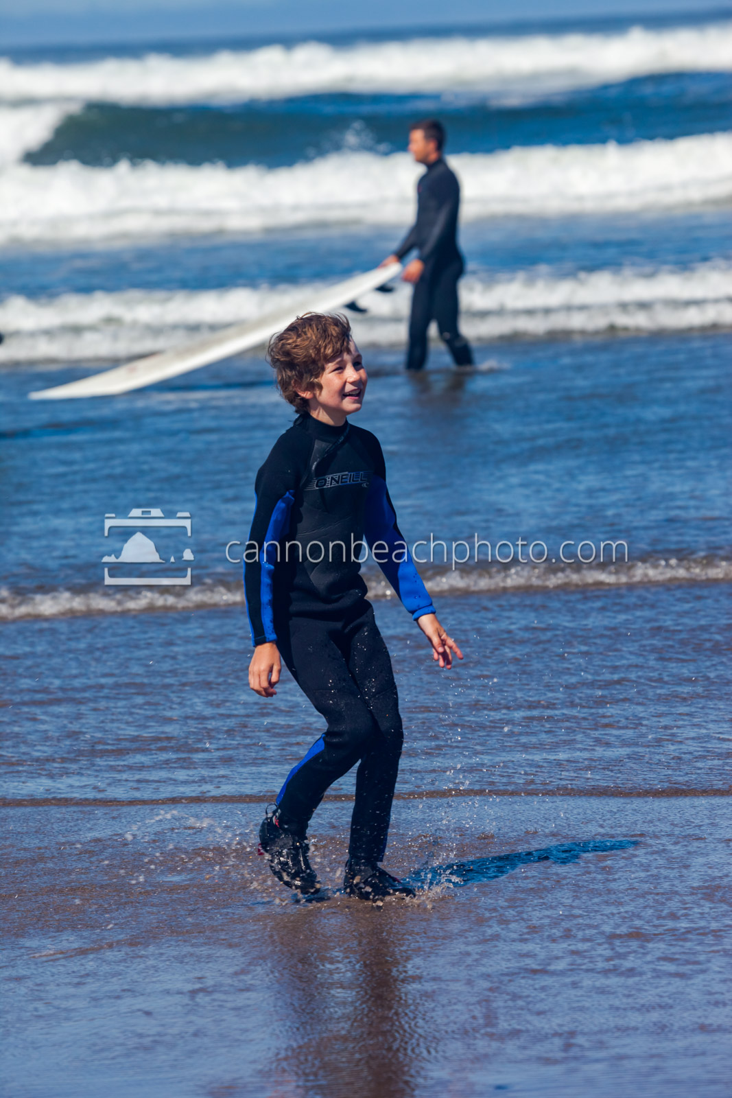 Grinning Kid, Surf Lessons