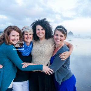 Women of the Family in Cannon Beach