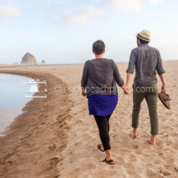 Young Couple Walking Hand in Hand 1