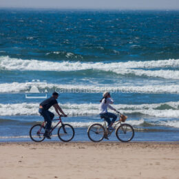 Biking the Shoreline on the Oregon Coast