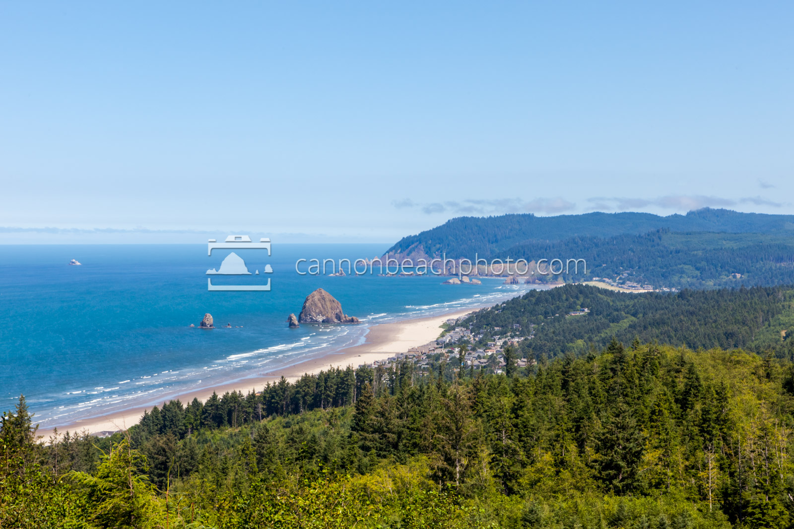 Bright Morning in Cannon Beach