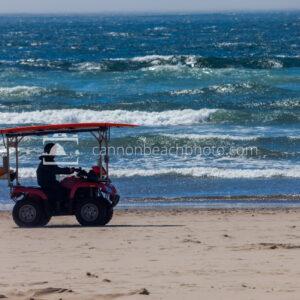 Lifeguard Duty on the Oregon Coast