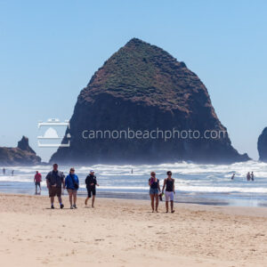 Strolling the Beach in Cannon Beach