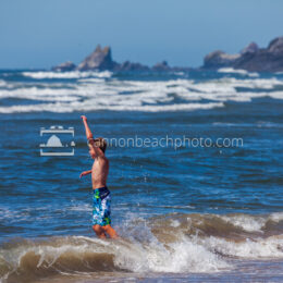 Wave Jumping Boy 2
