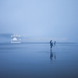 Photographer in the Fog