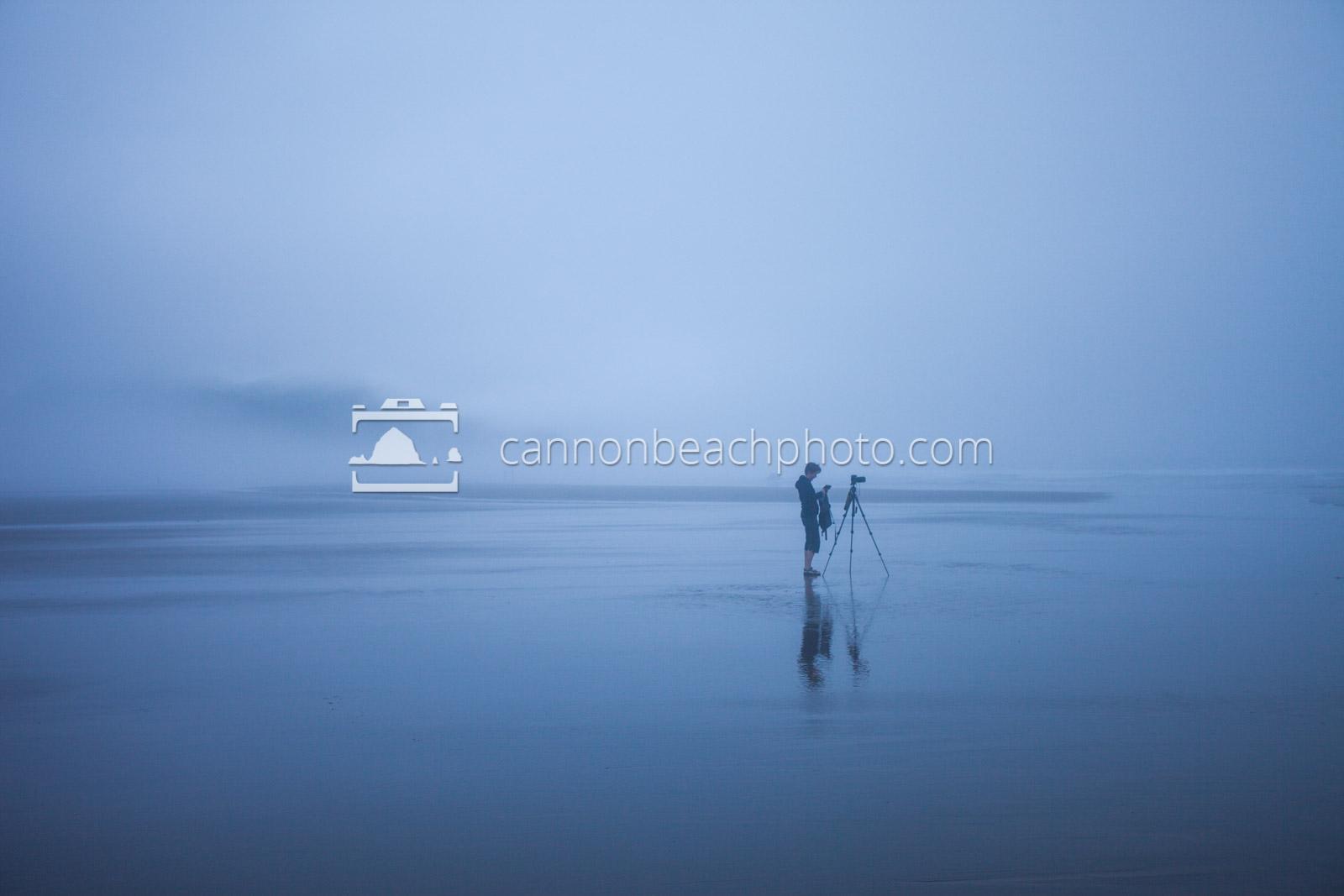 Photographer in the Fog