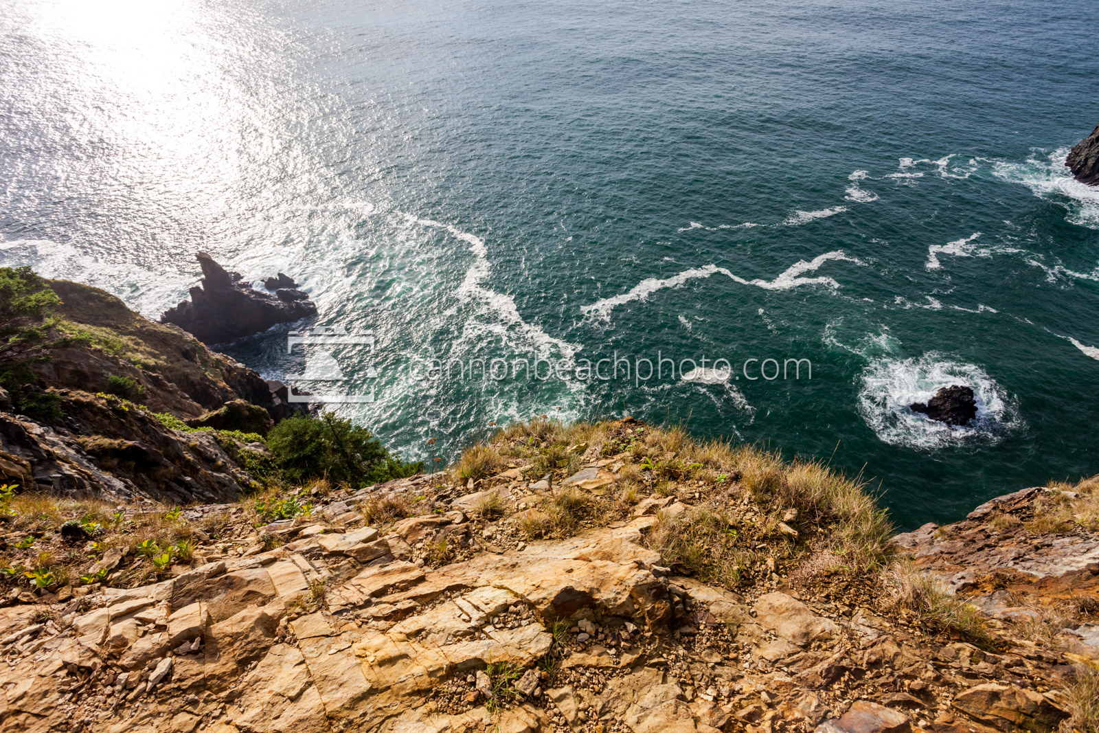 Cliff Edge at Devil's Cauldron