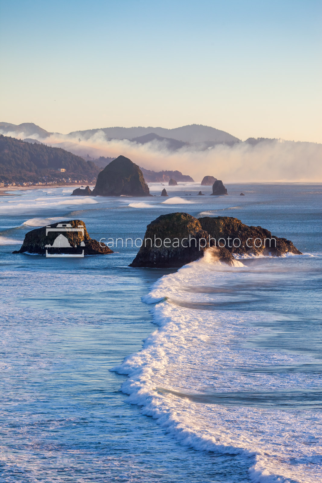 Fire Behind Haystack, Ecola Point