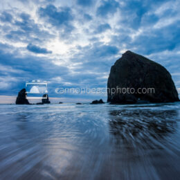 Wave Motion at Haystack Rock