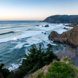 Wide View from the Tip of Ecola Point