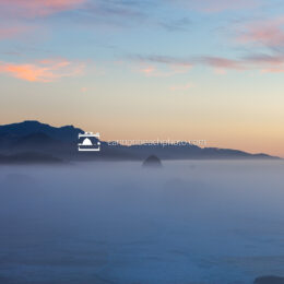 Foggy Evening View from Ecola State Park