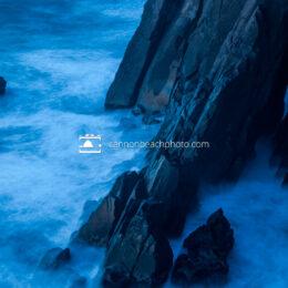 Ocean's Edge in Blue