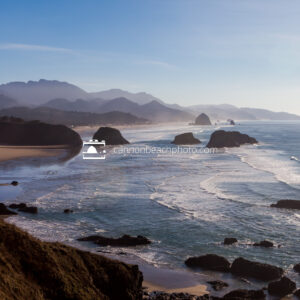 Sunny New Years View at Ecola State Park