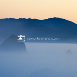 Sunset Fog in Cannon Beach