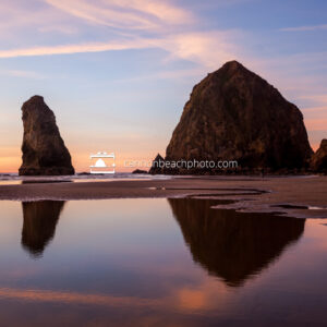 Haystack Rock Brilliant Sunset Closer