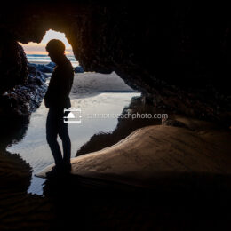 Woman In the Silver Point Cave 2