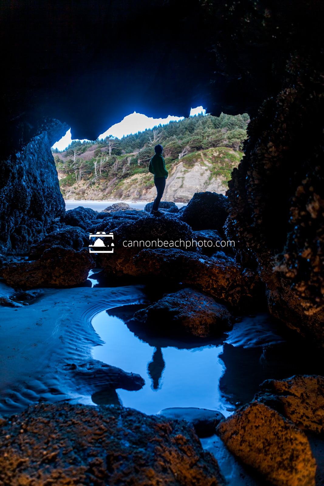 Woman In the Silver Point Cave 4