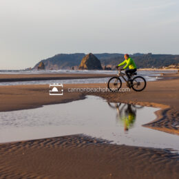 Biking on the Beach at Silver Point 2