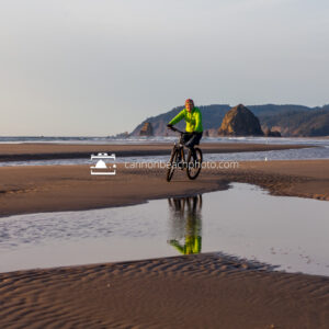 Biking on the Beach at Silver Point 3
