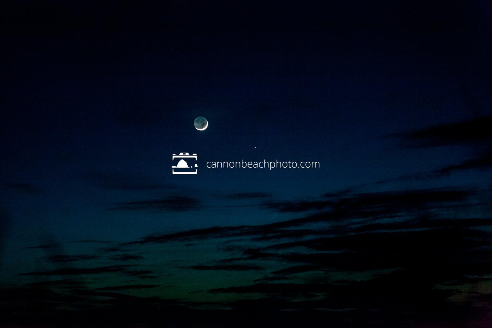 Moon Shadow Distance